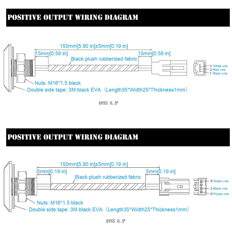 TurnRaise Universale Interruttore di Rilascio del Portellone Elettrico per Auto