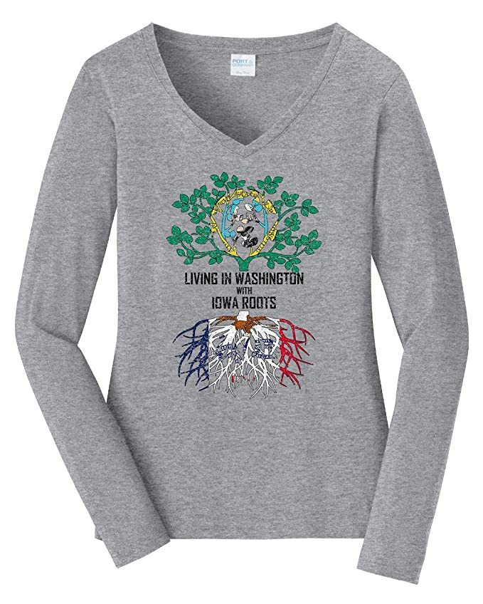 Tenacitee Babys Living in Oklahoma Washington Roots Shirt