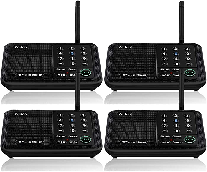 Top 10 2Pcs Homeoffice Wired Intercom Telephone System