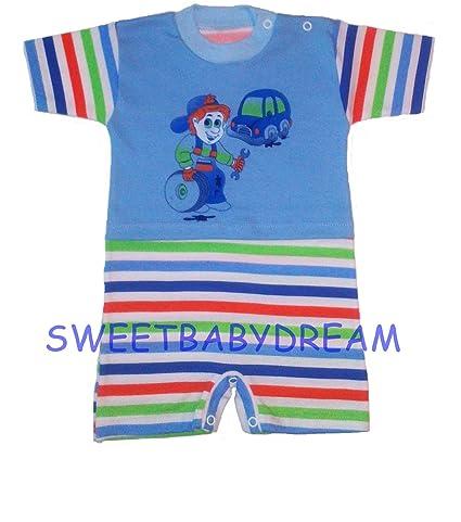 Bebé para los niños y de verano // chica de espaldas en ropa del Pelele