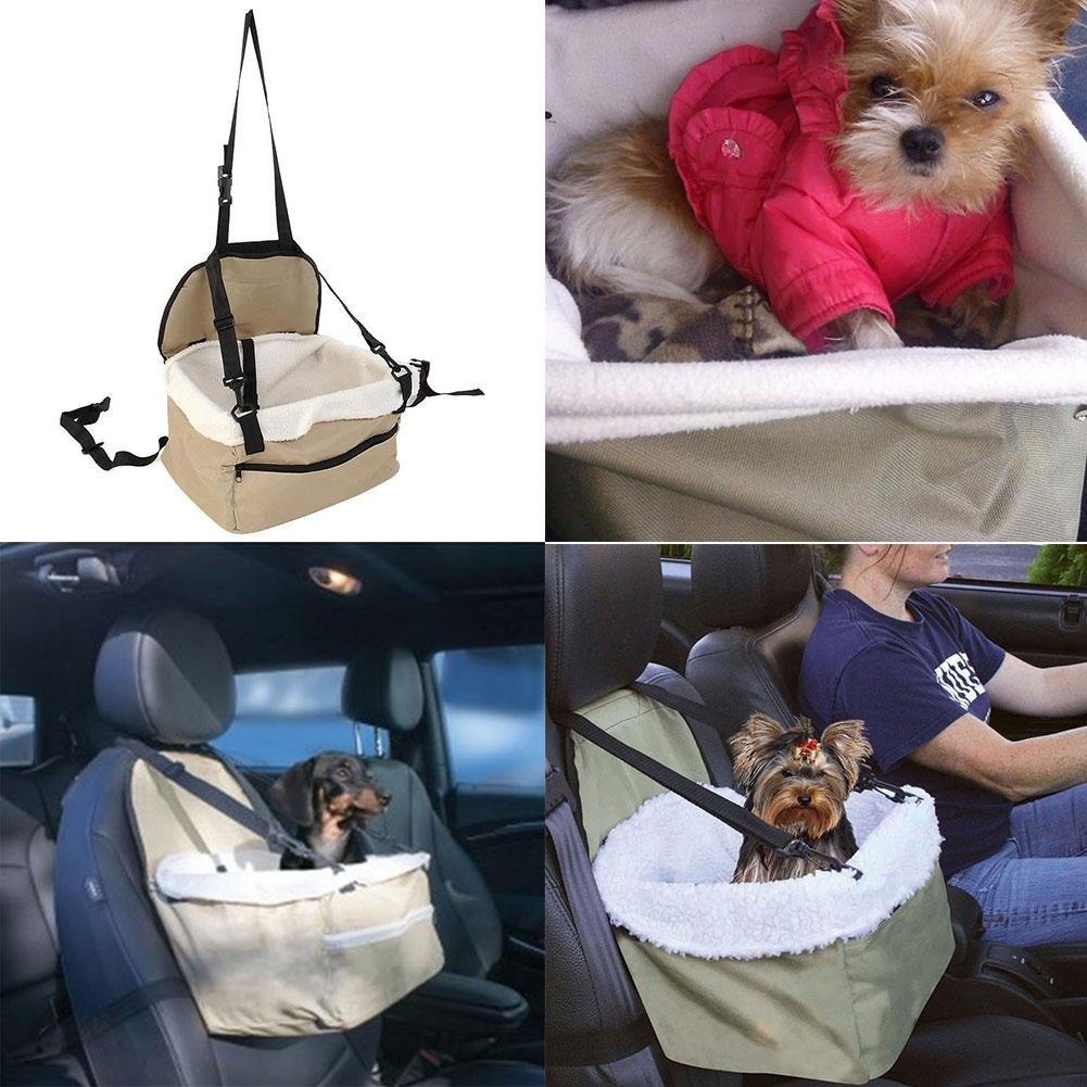 Bolange Hundesitz Korb Booster Reisetasche f/ür Haustiere Sicherheitssitz Stuhl f/ür Hund Katze kleine Haustiere Tragbar u