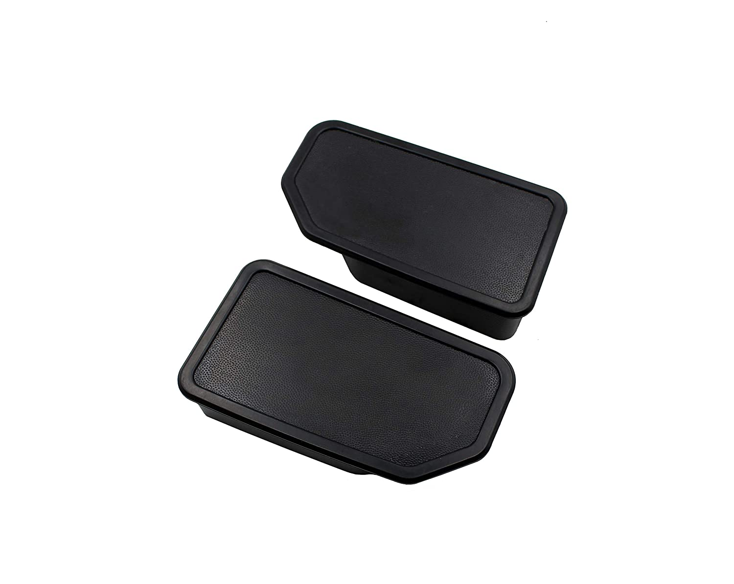 Truck Bed Rail Stake Pocket Covers//Stake odd shaped Hole Plugs for 2014-2018 Chevy Silverado 1500 2500 2500HD 3500 and GMC Sierra 1500 Set of 2