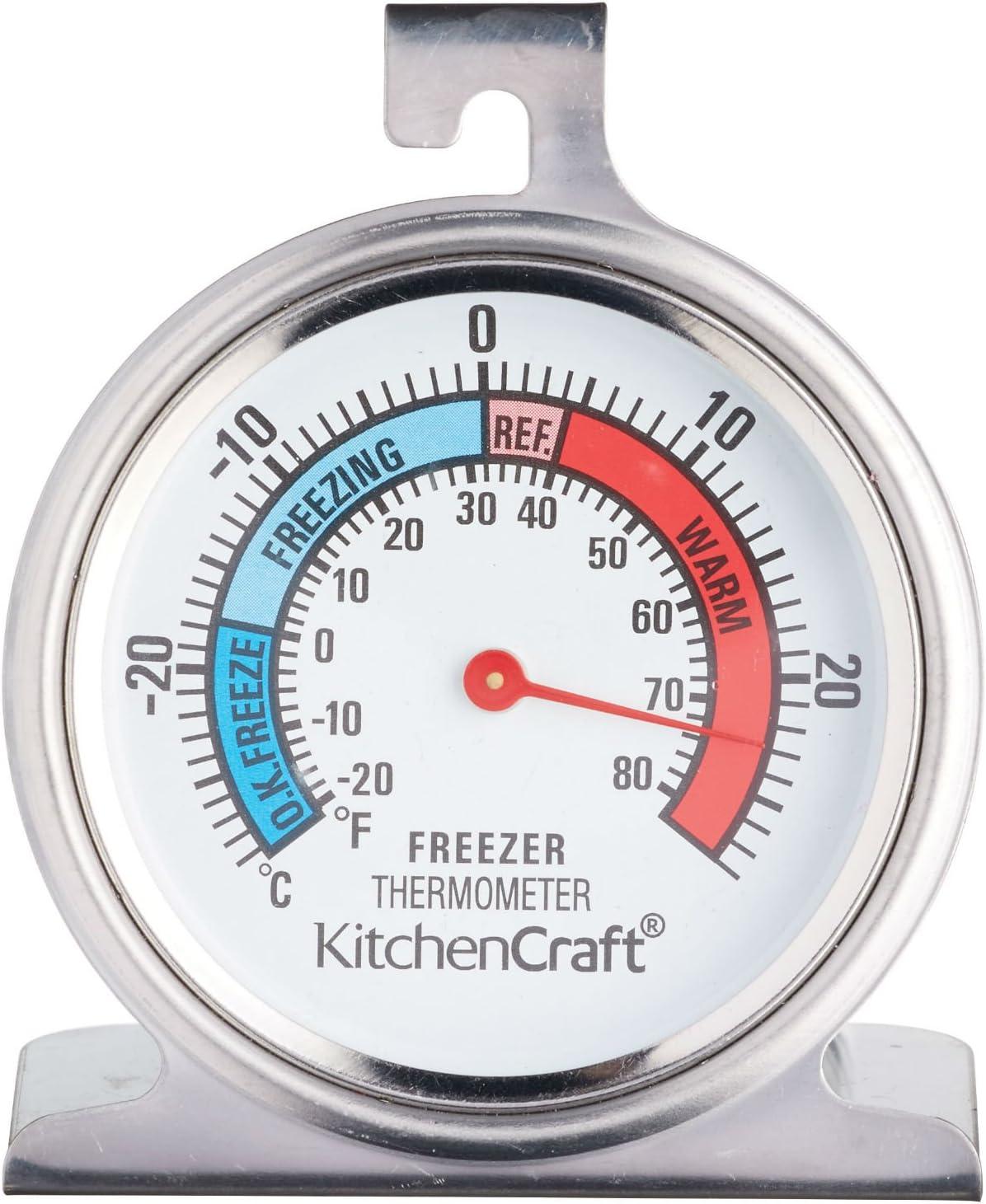 Kitchen Craft KCFRIDGETH - Termómetro para frigorífico (Acero ...