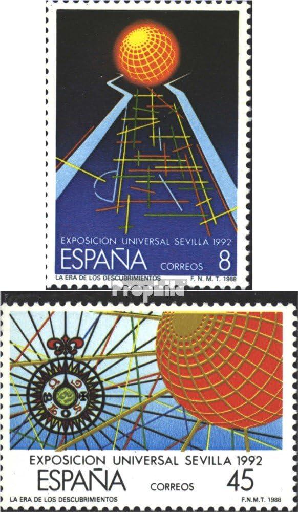 Prophila Collection España Michel.-No..: 2818-2819 (Completa.edición.) 1988 Expo `92 (Sellos para los coleccionistas): Amazon.es: Juguetes y juegos