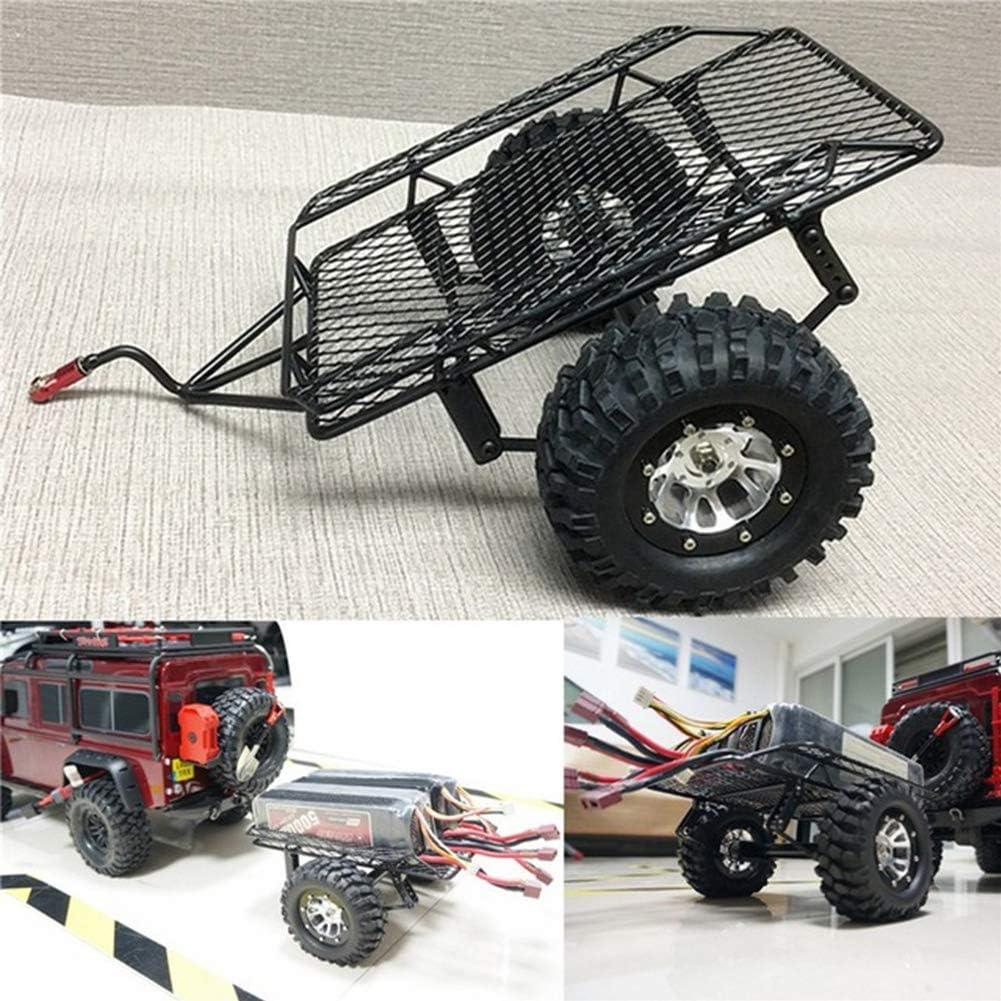 DIY Simulate RC Crawler Metal Drag Hitch Mount Tow Trailer ...