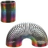 Ressort magique Plastique multicolore - Jouet idée cadeau