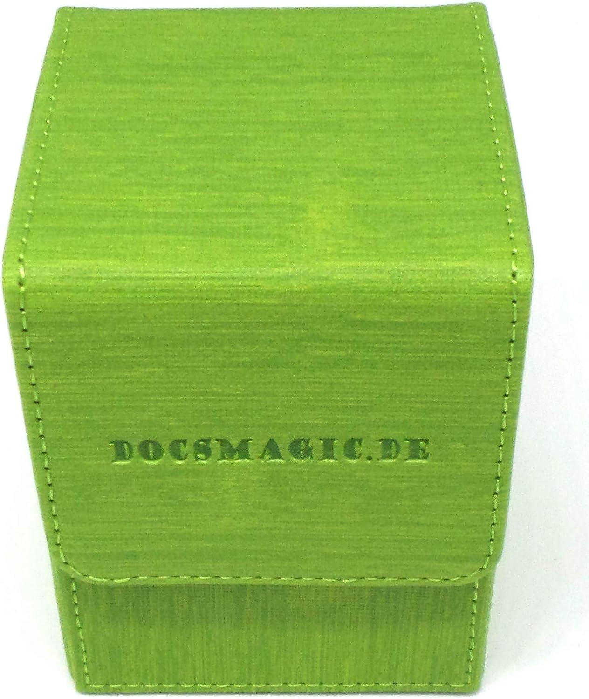 80 docsmagic.de Premium Magnetic Flip Box Boite Deck Divider Orange MTG PKM YGO