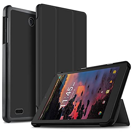 size 40 ee342 33cd6 IVSO Alcatel A30 Tablet 8 Inch Case - Ultra Lightweight Slim Smart Cover  Case-for T-Mobile Alcatel Dubbed A30 8 Inch Tablet Model 9024W 2017  Released ...