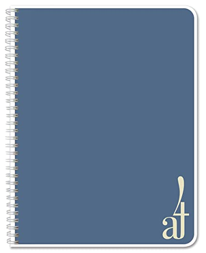 Amazon.com: bookfactory grid-ruled-a4-a5-main, Azul: Office ...