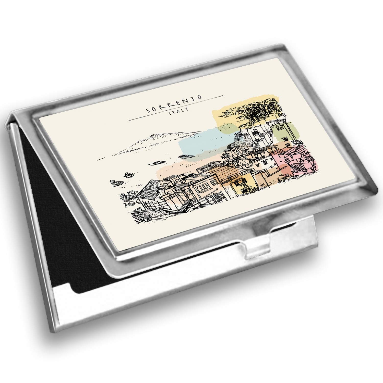 Amazon Com Lunarable Amalfi Coast Card Holder Sorrento