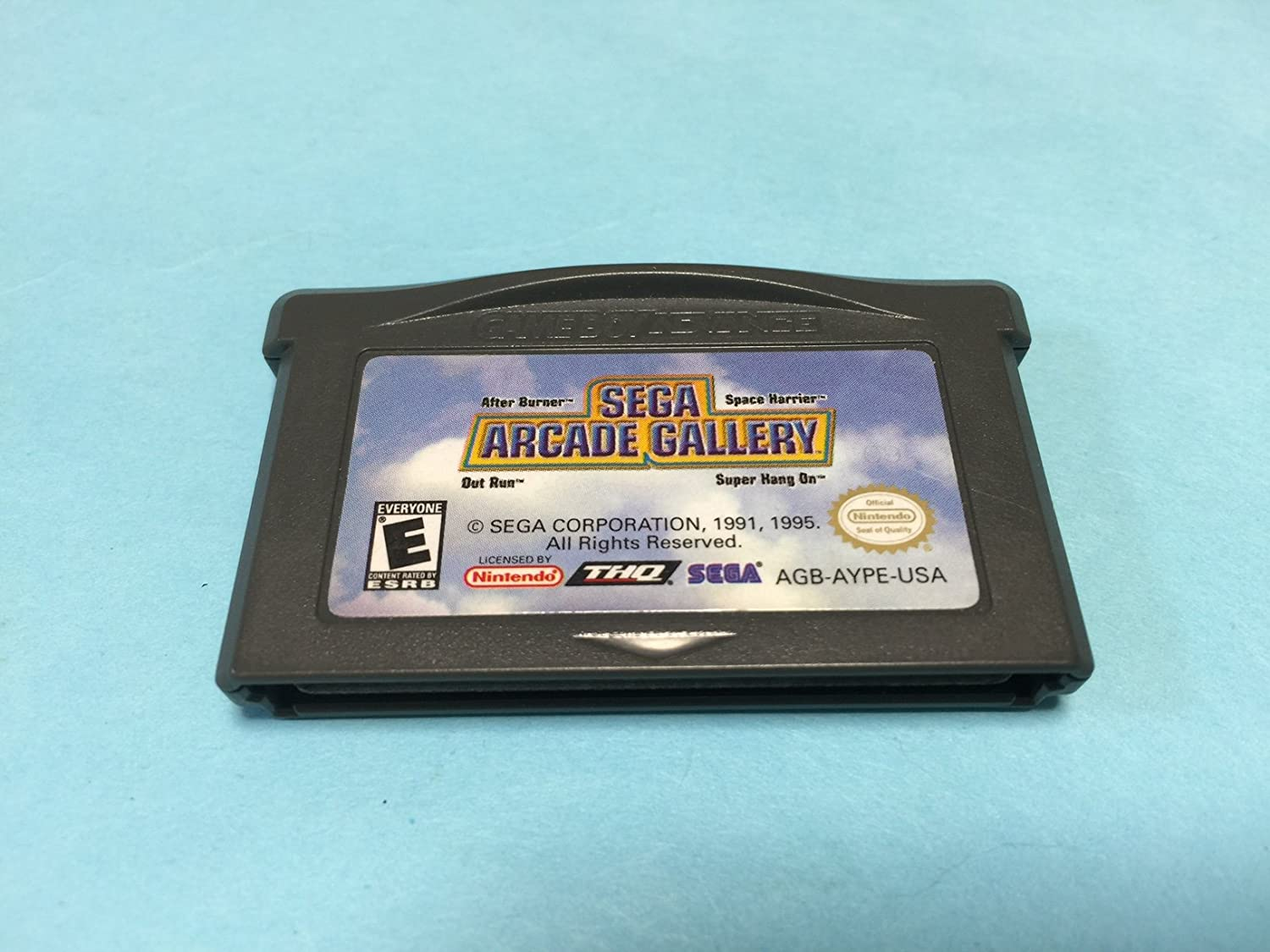 Amazon Com Sega Arcade Gallery After Burner Outrun Super Hang On And Space Harrier Game Boy Advance Gameboy Video Games