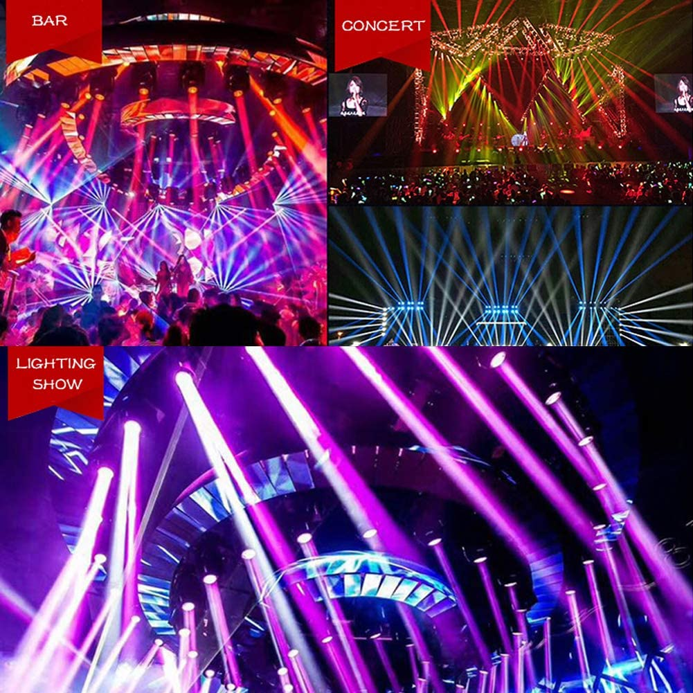 Party LED Par Light Club DJ Show by SHEHDS Disco 7x18W Stage Lights 6 in 1 RGBWA UV Stage Lighting DMX Control Uplighting Sound Activated Auto Run for Wedding KTV