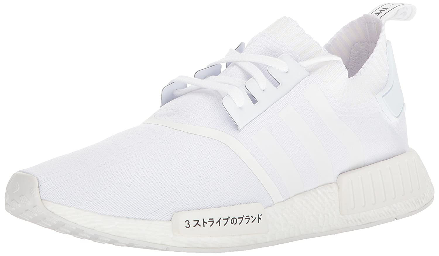 wholesale dealer c3ef7 50d16 Amazon.com  adidas Originals Mens NMD R1 Primeknit JPN Trainer US11.5  White  Road Running