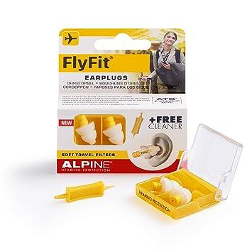 Alpine Flyfit Ohrstöpsel Für Den Druckausgleich Beim Fliegen