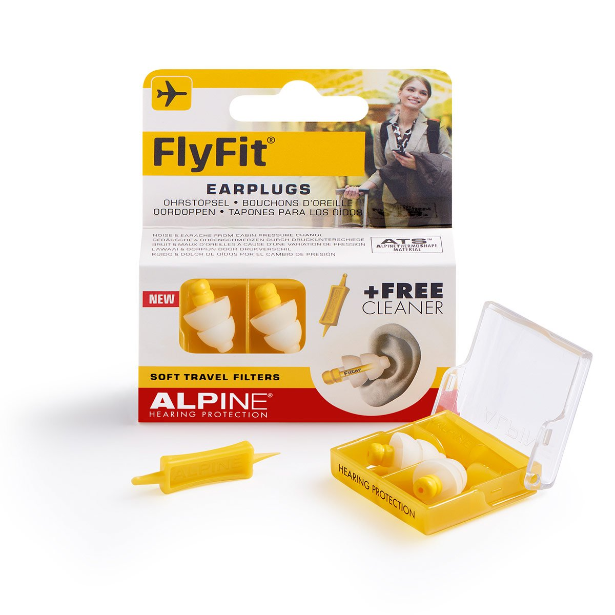 Alpine Fly Fit Earplugs