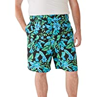 83d3e99594 KS Island Men's Big & Tall Basic Island Novelty Swim Trunks