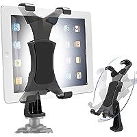 Yoassi 360Degrees Rotatable Heavy Duty iPad Tripod Mount, Universal Clamping Tablet Holder Break-Resistant Anti-Wobble…