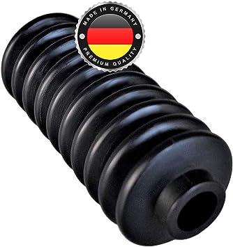 Ws System 2x Universal Faltenbalg Aus Gummi 2 Stk Flexible Dehnbare Achsmanschette Made In Germany Aus Hochwertigem Pvc Schelle In Größe L 60mm 147mm Ø 20mm 27mm Auto