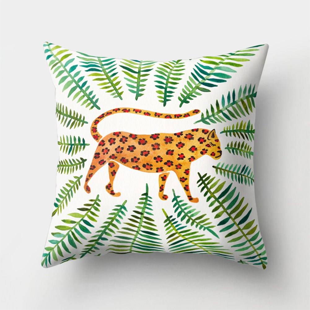 timeracing Fashion Cute Cartoon Three-dimensional Design Cat Print Soft Bed Chair Throw Pillow Case Cushion Cover Home Room Office Decor