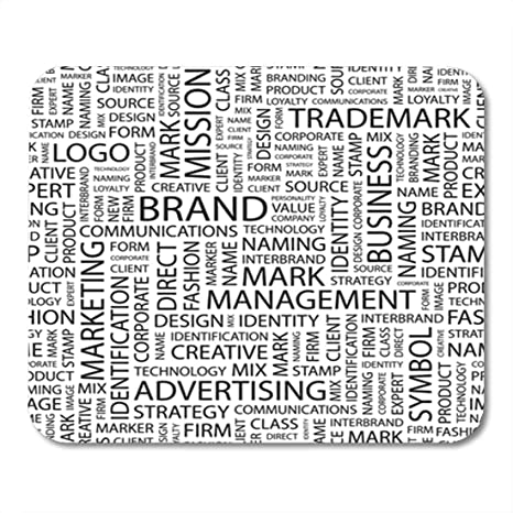 Amazon com : Semtomn Gaming Mouse Pad Marketing Brand