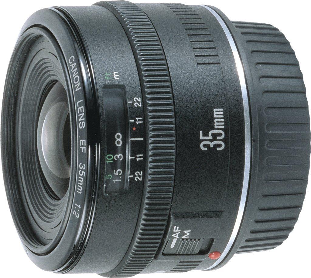 Canon Objetivo EF mm  : rosca para filtro de mm
