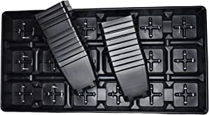 Set of 3 Trays Plus 54 POTS - 3.5