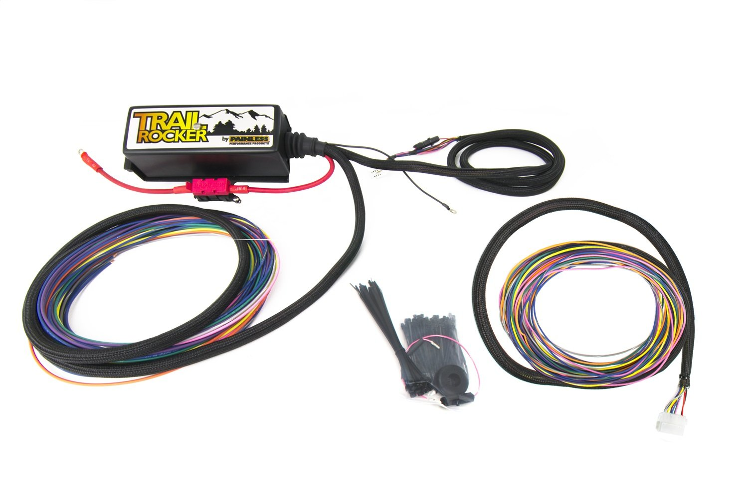 Painless Wiring 57042 Trail Rocker Relay Center Jeep Company Tj 1997 06 1 Pack Automotive