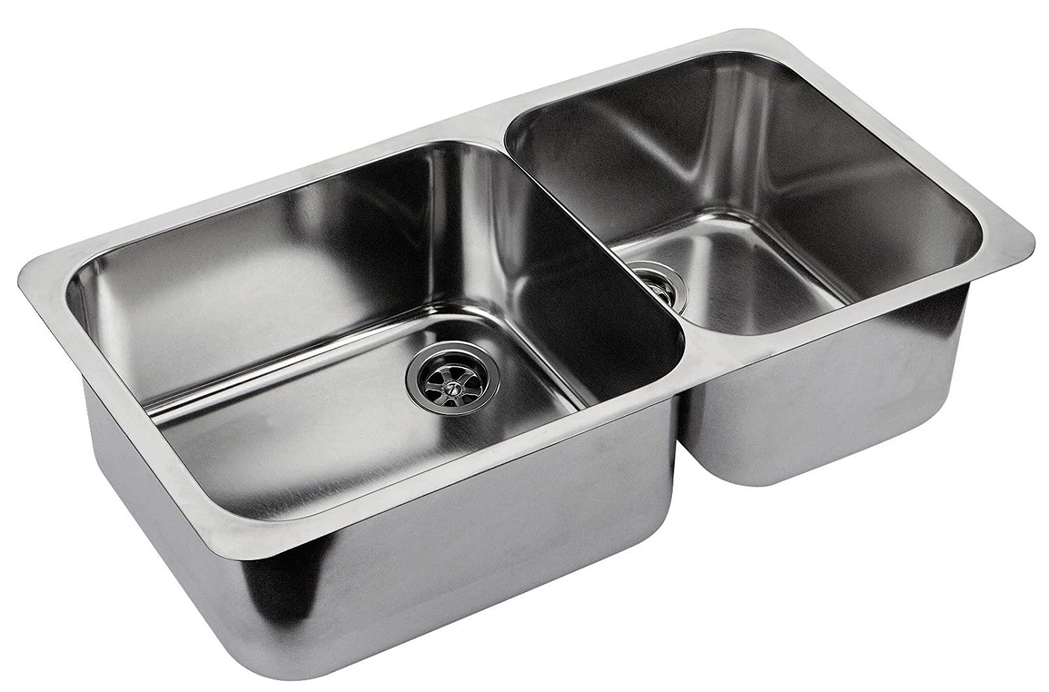 Ambassador Marine Double Rectangle Stainless Steel Ultra Mirror Polished Finish Sink