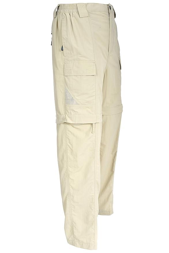 69a78b3c59 Amazon.com : Bimini Bay Outfitters Men's Grand Cayman Zip-Off Nylon Pants :  Clothing