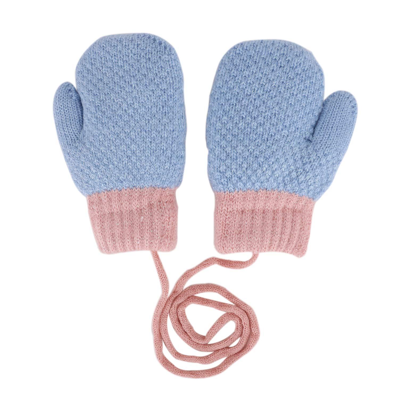 Kinder Handschuhe Cartoon Fausthandschuhe Fingerlos F/äustlinge mit Schnur Warm Pl/üsch gef/üttert Thermohandschuhe Outdoor Schnee Handschuhe f/ür Jungen und M/ädchen