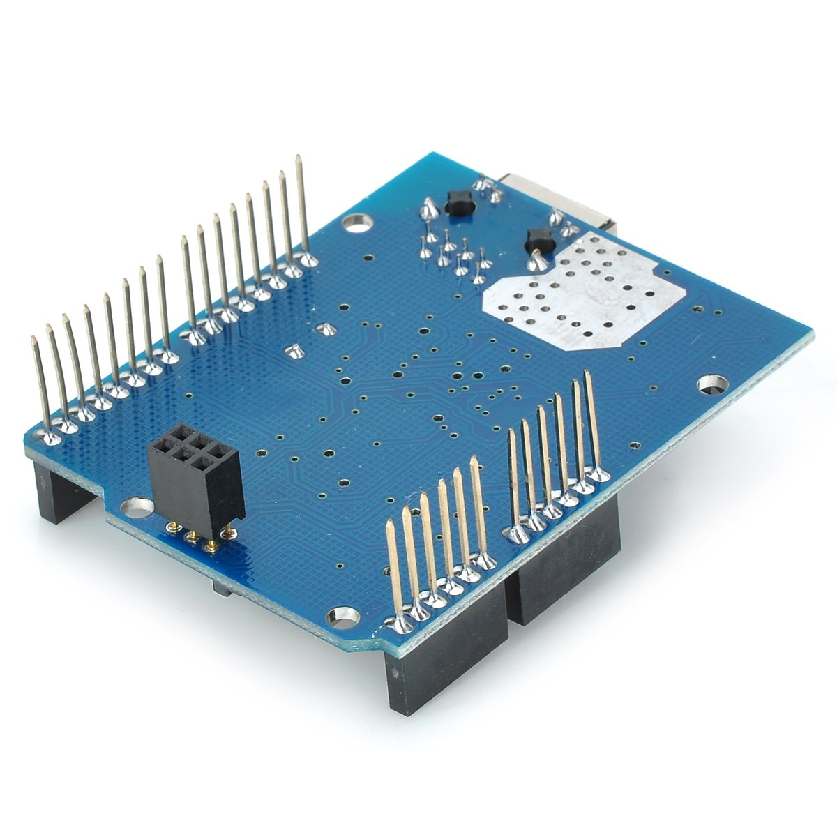 Blue Ethernet Network Expansion Board Micro SD Card Slot for Arduino by IDS Home (Image #3)