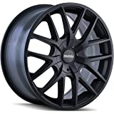 Touren TR60 3260 BLACK Wheel with Matte (18 x 8. inches /5 x 112 mm, 40 mm Offset)