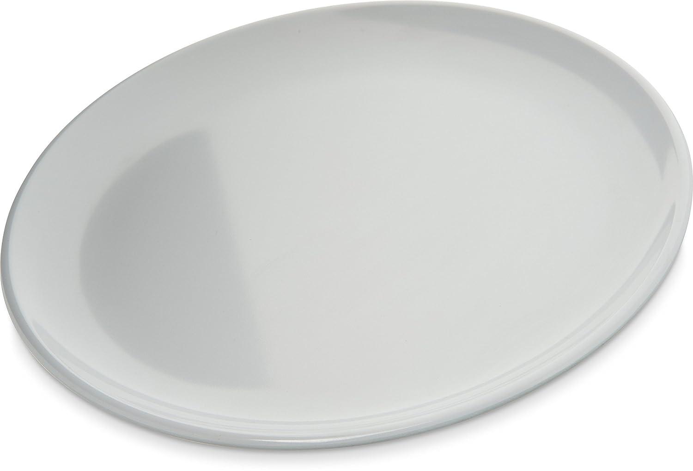 Carlisle 4381302 Epicure Melamine Salad / Serving Bowl, 40 Oz., White (Set of 12) Carlisle FoodService Products
