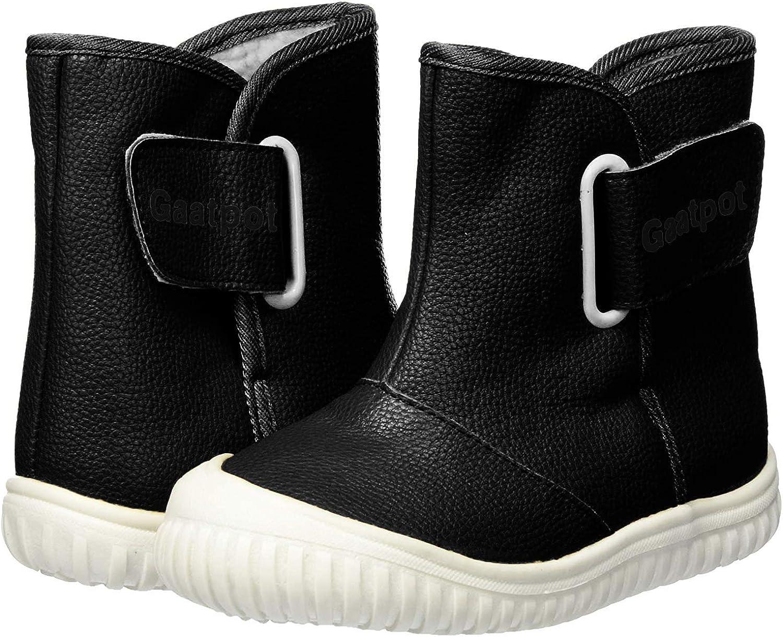 Gaatpot Bottes de Neige B/éb/é Gar/çon Fille Premiers Pas Chaud Hiver Enfant Bottines Chaussures /étanche Boots