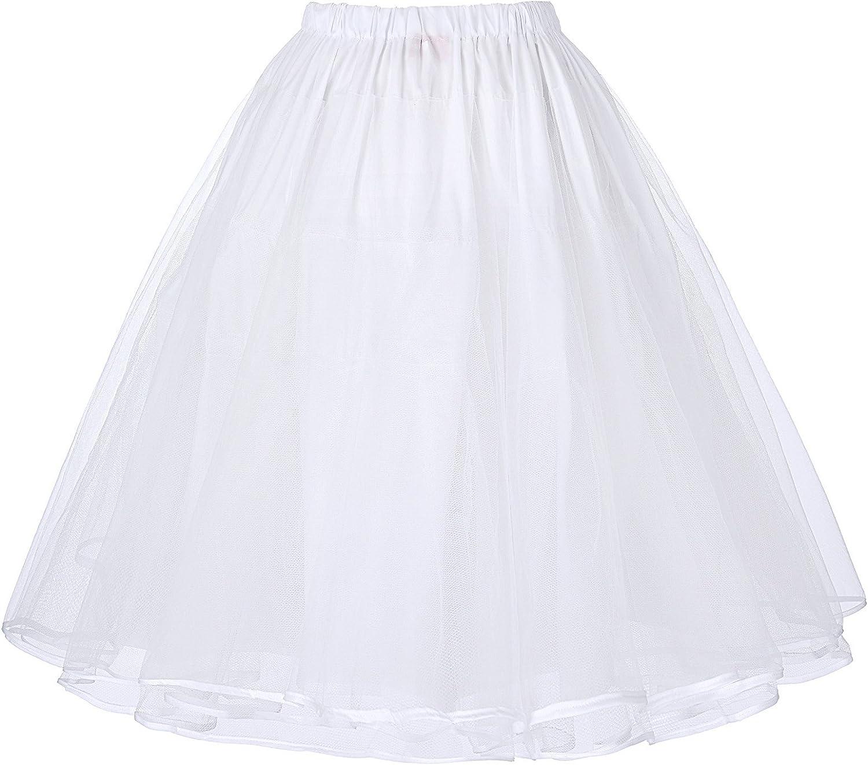 Belle Poque 50er Jahre Kleid Vintage Retro Petticoat Reifrock Unterrock Petticoat /…