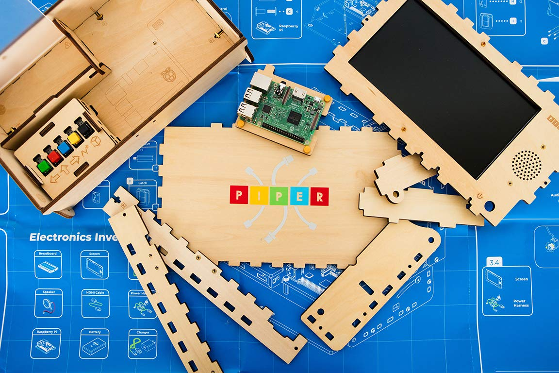 Piper Computer Kit 2 - Teach Kids to Code - Hands On STEM Learning Toy with Minecraft: Raspberry Pi (New) by Piper (Image #5)