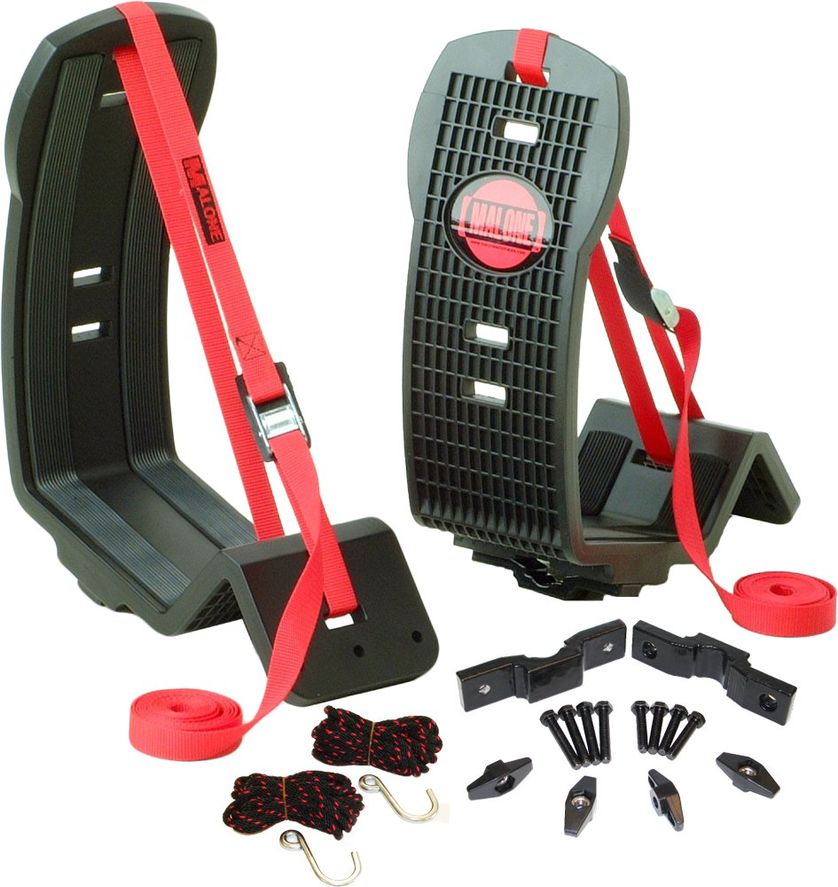 Malone AutoLoader XV J-Style Universal Car Rack Kayak Carrier with Bow and Stern Lines