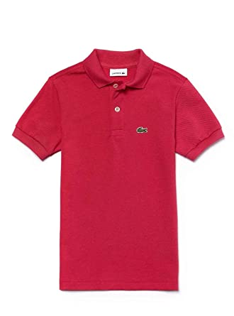 großer Rabattverkauf UK-Shop hell im Glanz Lacoste Polo Shirt PJ2909-PH9 Pink: Amazon.co.uk: Clothing