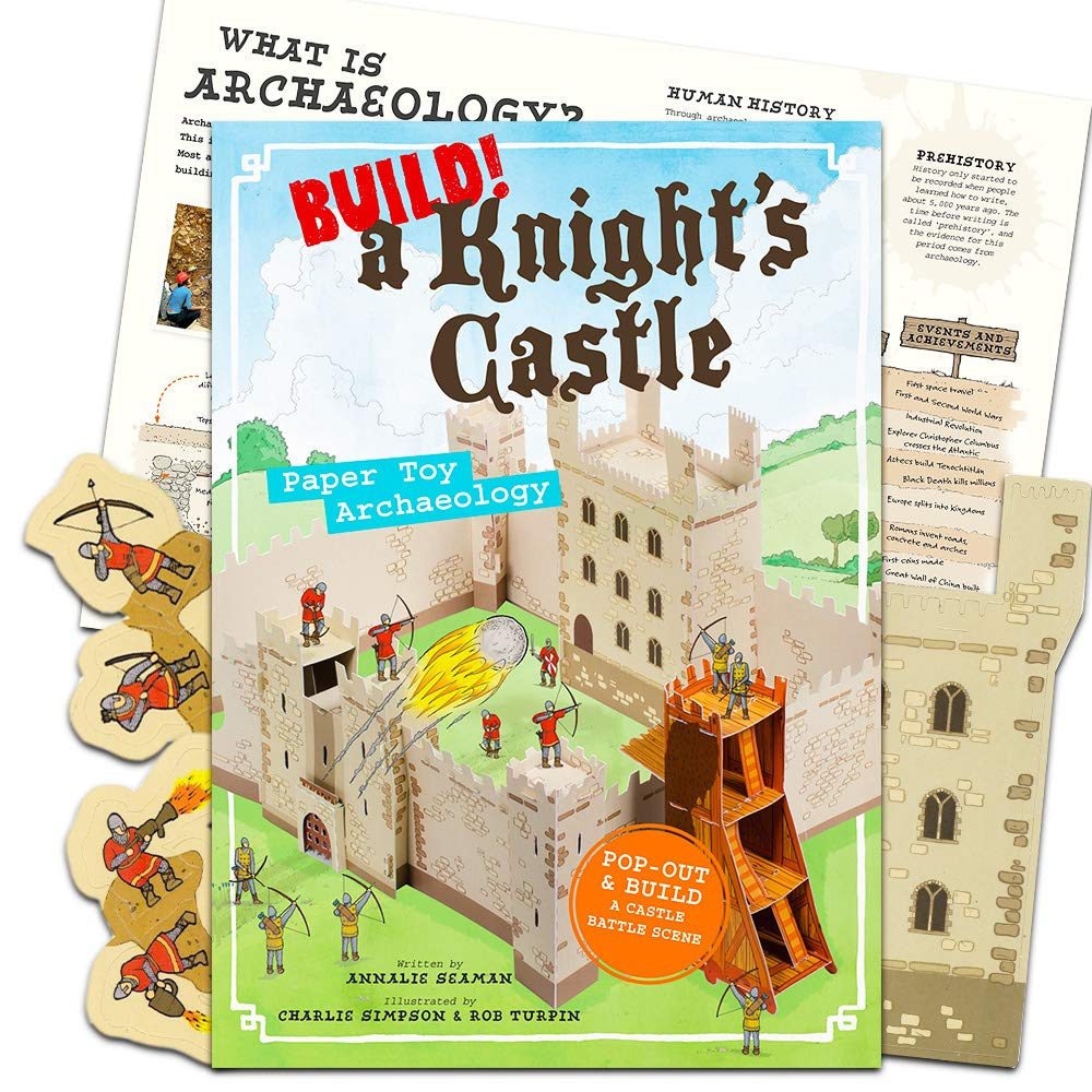 【新発売】 ビルド A Knight's Castle: B07PJXRPXS Archaeology Toy Paper Toy 3D Archaeology Castle B07PJXRPXS, 西頸城郡:f806e571 --- a0267596.xsph.ru