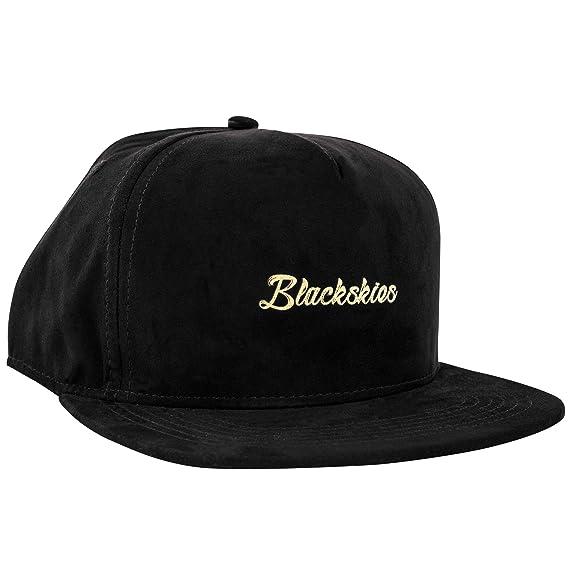 3fc3eb1c1b9 Blackskies Aegis Snapback Cap Women Men Hat Cap Black Suede Faux Suede