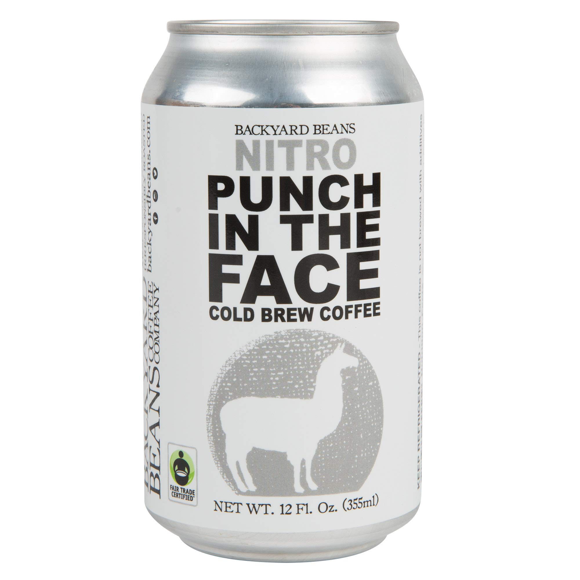 TableTop King 12 oz. Nitro Punch in the Face Cold Brew Coffee - 12/Case