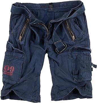 Surplus - Pantalones cortos para hombre cargo. Royal