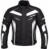 Mr.Pro JKT-007 Veste de moto en tissu Cordura® imperméable - Protection certifiée CE