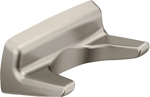 MOEN Method Double Robe Hook in Brushed Nickel YB2403BN
