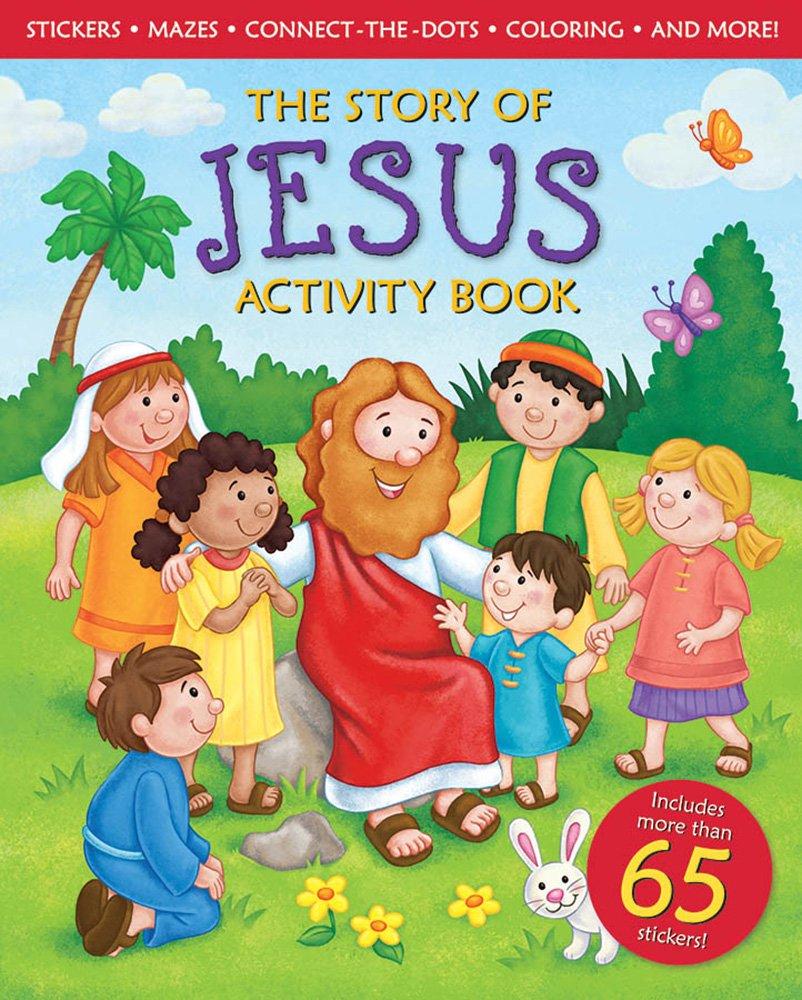the story of jesus activity book michelle medlock adams lisa