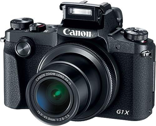 Canon PowerShot G1 X Mark III 24.2MP 3X Zoom Lens Digital Camera