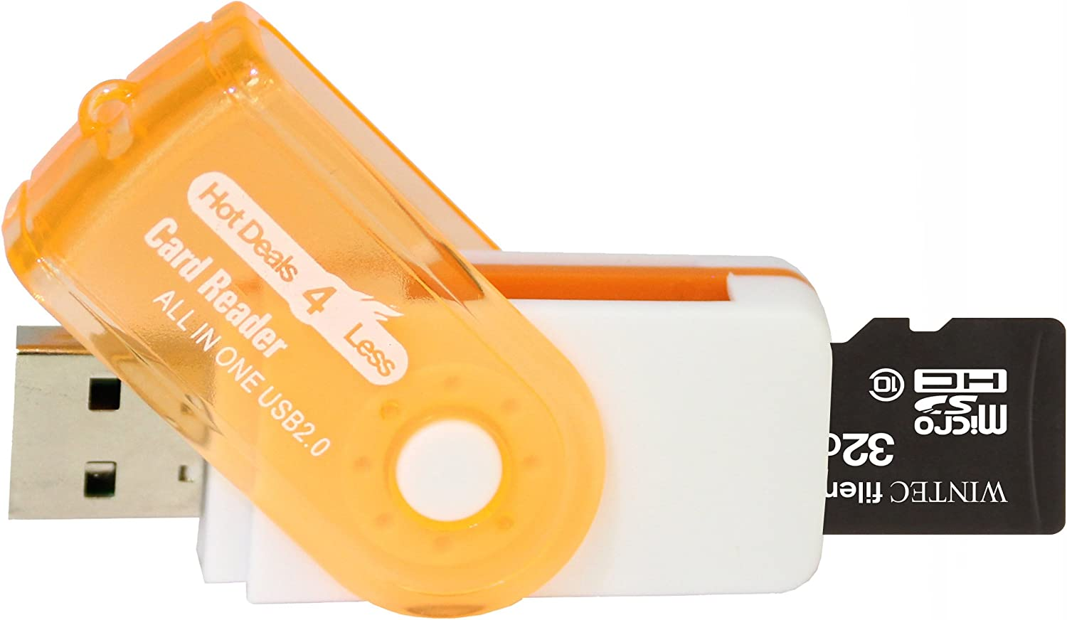 A free Hot Deals 4 Less High Speed all in one Card Reader is included 32GB MicroSDHC Class 10 High Speed Memory Card Comes with. Perfect Fit For Nokia X5-01 X6