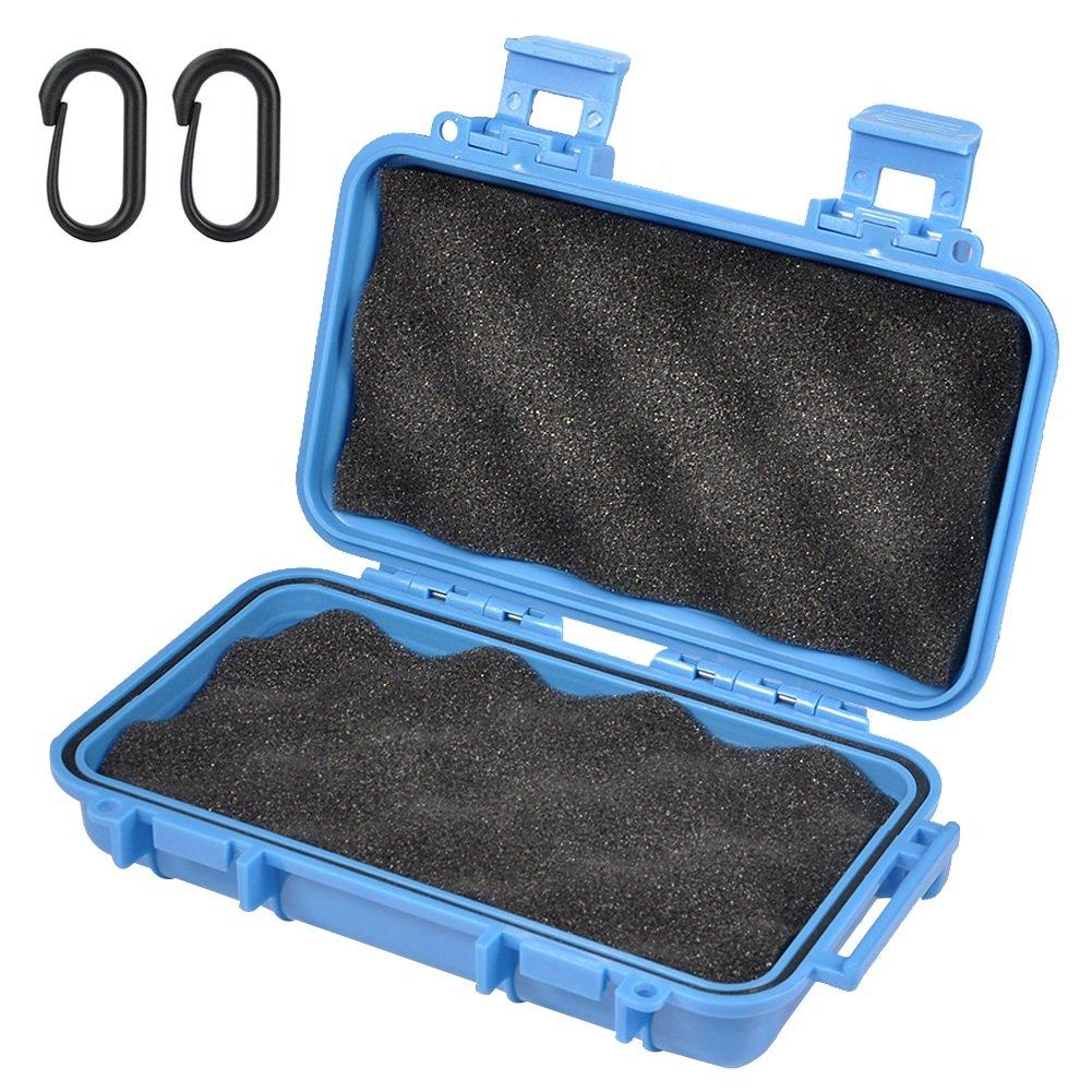 Wasserdichte Box Stoßfest Tragbare Trocken Aufbewahrungsbox mit 2 U Form Schnalle für Angeln Camping Wandern Outdoor-Aktivitäten VGEBY