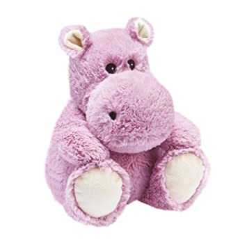 Thermal Warmies Plush Hippo Pink