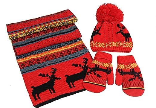 9ce43494e28136 Amazon | 桜の雪 帽子・マフラー・手袋 3点セット プレゼント おしゃれ ...